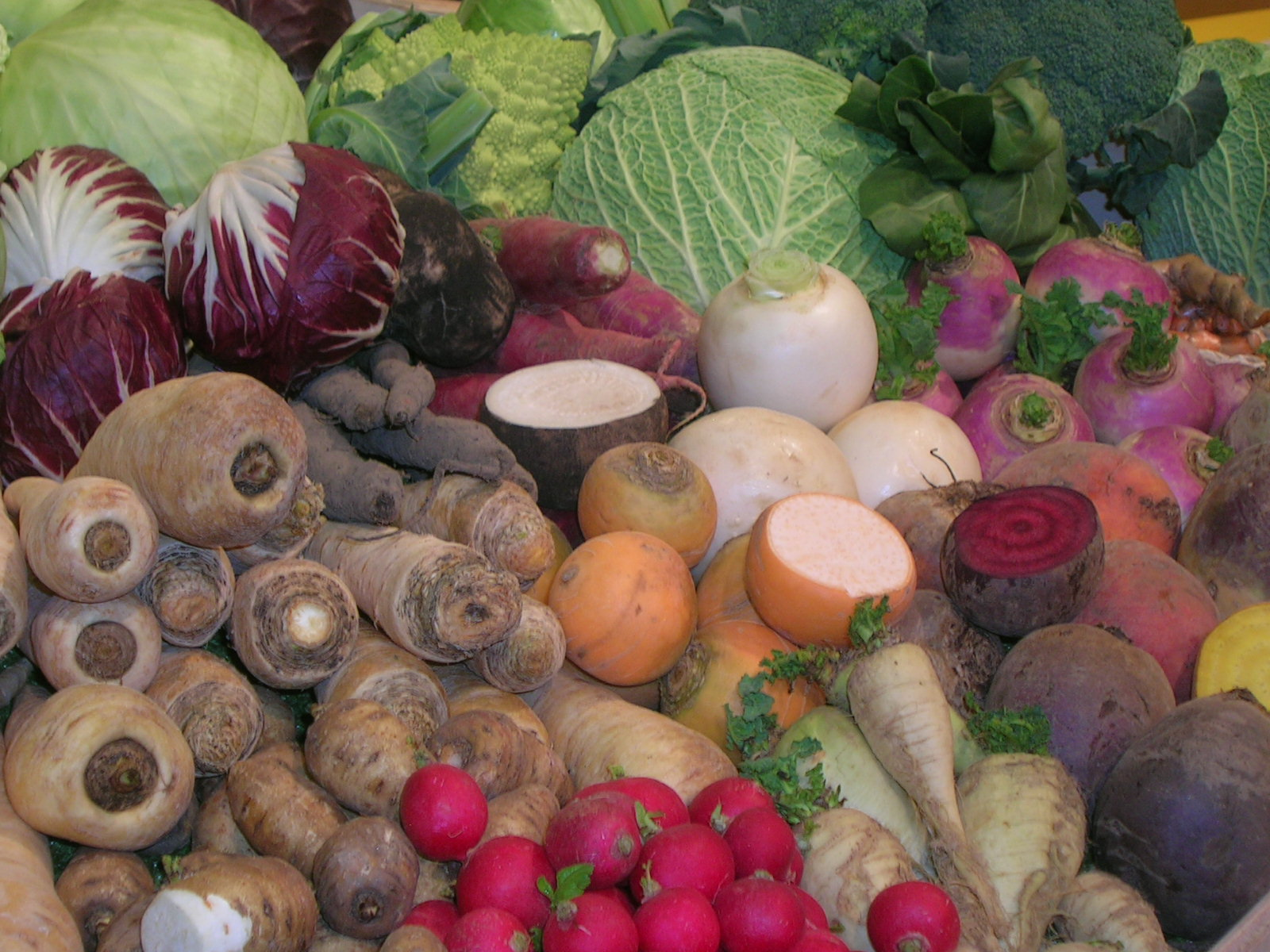Gemüse-vielfalt